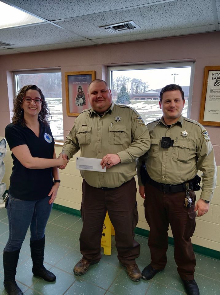 Cass County Animal Shelter Donation 2019